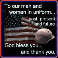 For those in US Military Service