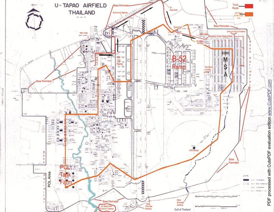 Waf's At Korat Rtafb: Utapao Afb Thailand Map At Infoasik.co